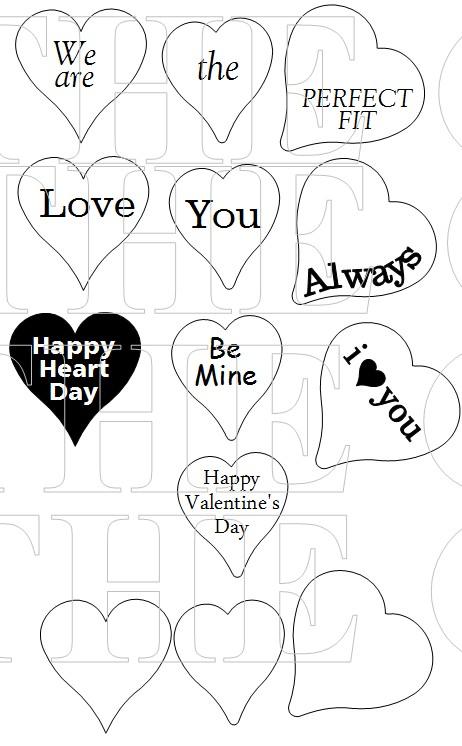 HEART LACE SENTIMENTS