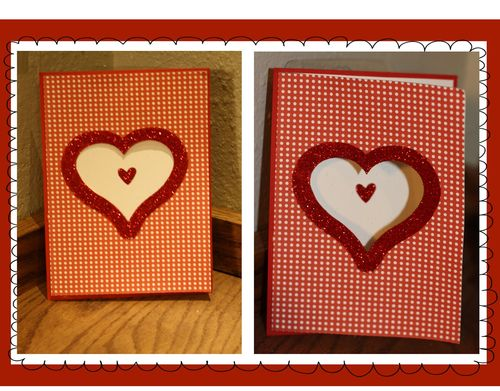 Heart cards  Tanya Alley - Assorted heart cards