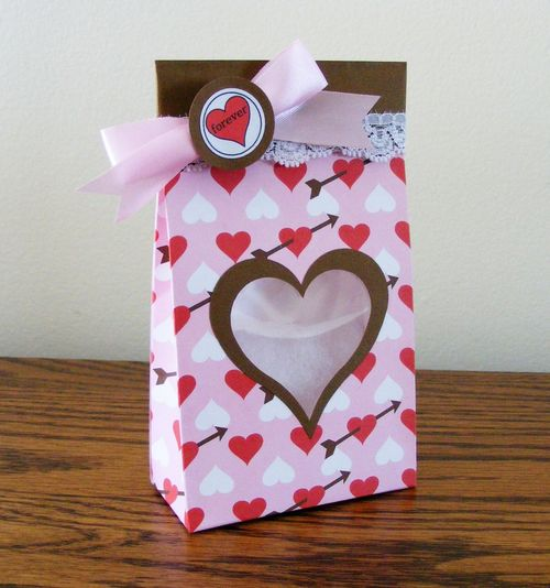 Forever   Deloris Thiede - Heart bag template