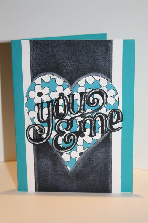 You and me  Tanya Alley - Fun with hearts