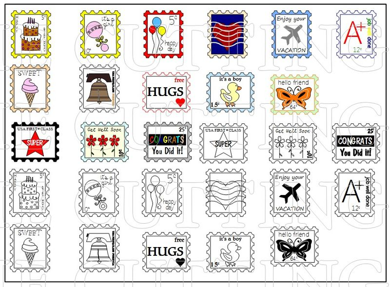 EVERYDAY POSTAGE STAMPS
