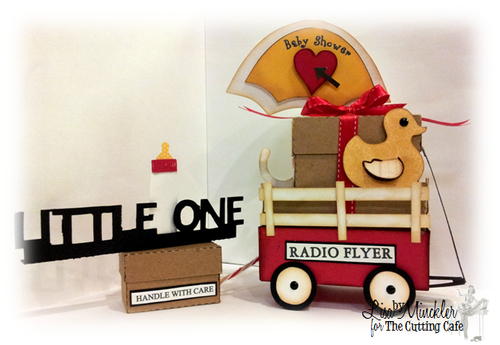 Radio Flyer - Lisa Minckler - Little red wagon box set