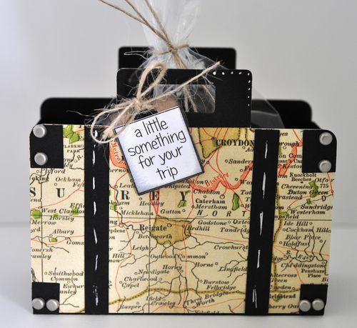Suitcase treat box 1