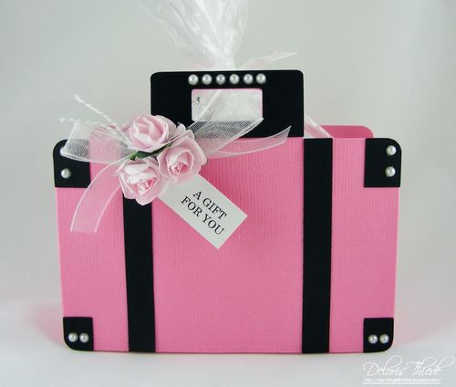 A Gift For You - Deloris Thiede - Suitcase treat box