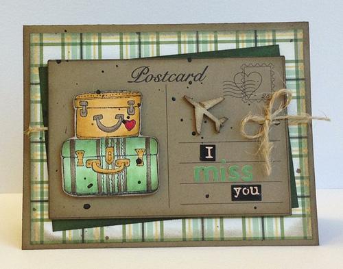 Postcard - Carolyn Wolff - Postcard printable set