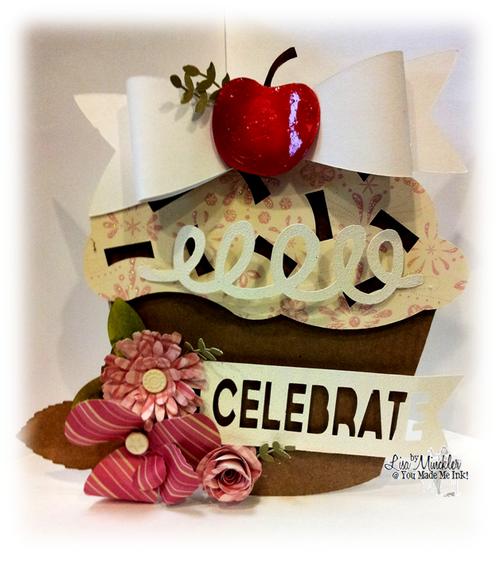 Celebrate - Lisa Minckler - Cupcake templates