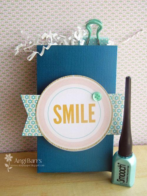 SMILE - Angi Barrs - Heart bag template
