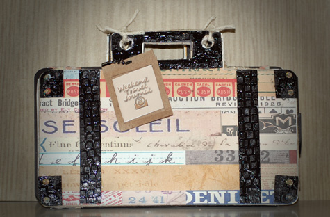 Journal - Holly Hudspeth - Suitcase mini book