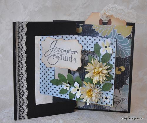 Joy - Leslie Foley - square flip card