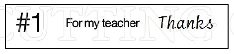 TEACHER GC