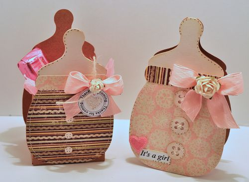 Bottle box set pink