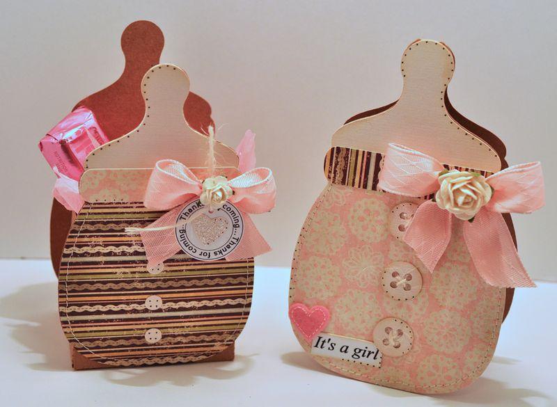 Bottle box set pink