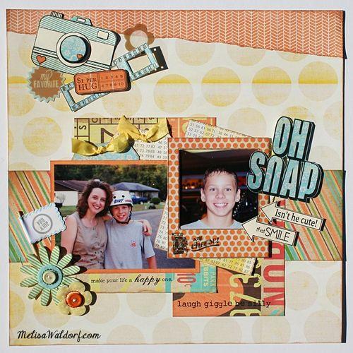 OH SNAP - Melisa Waldorf - Polaroid and camera fun