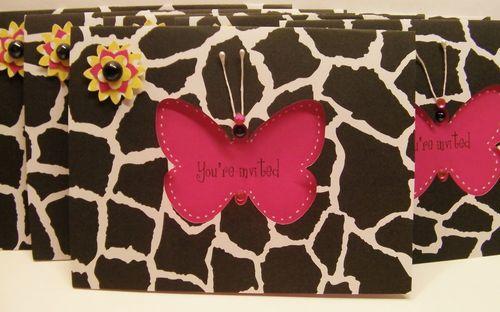 You're invited - Rhonda Zmikly - Window cards