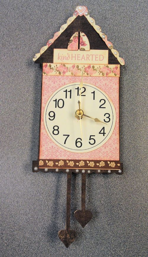 Kind HEARTED CLOCK - Tee Angel - Its about time