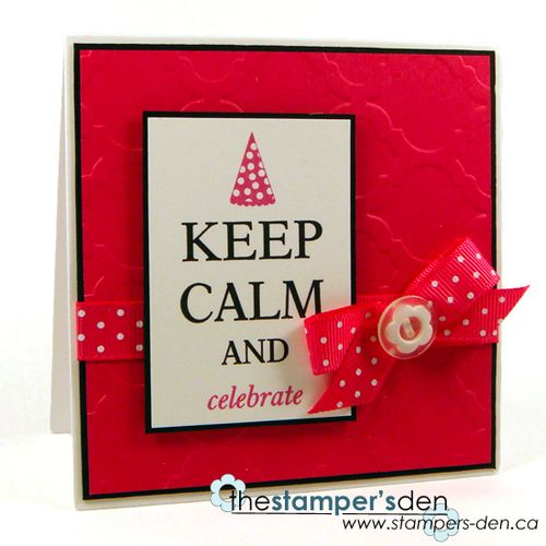 Keep calm and celebrate - Karrie Snider - Keep calm and have a great birthday set