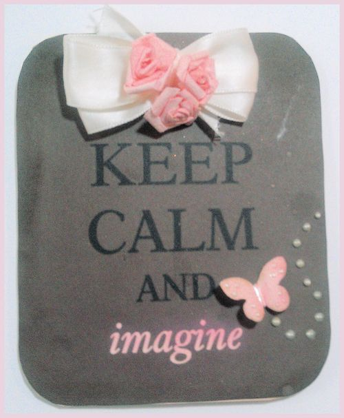 Keep Calm and imagine - Tee Angel - Keep calm and reach for the stars set