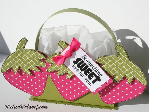 Something Sweet Just for you - Melisa waldor - Strawberry treat box