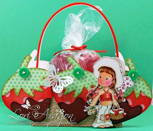 Strawberry Treat Box - Lori Aragon