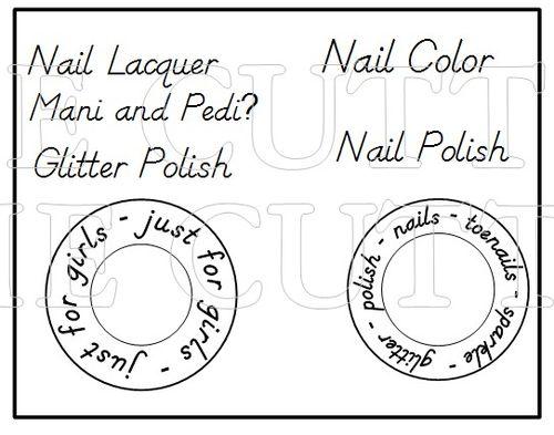 NAIL POLISH BOX HOLDER SET