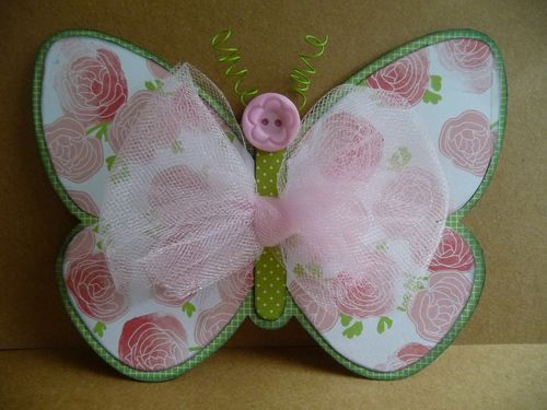 Butterfly Shaped Card - Jeri Thomas