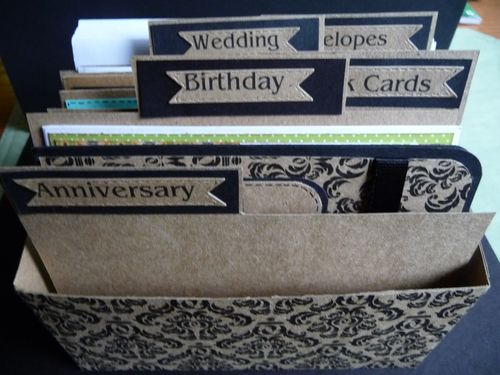 Card Box Organizer - Jeri Thomas