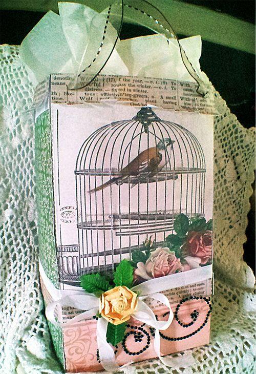 Large Gift Bag - Holly Hudspeth