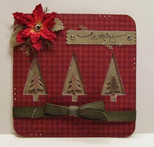 Be merry - Rhonda Zmikly - Christmas card fun