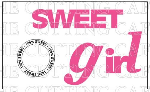 SWEET GIRL TITLE SET