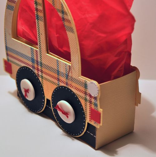 Funny car bag 1