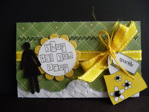 Shop til you drop - Jeri Thomas - All about girls and gift card holder