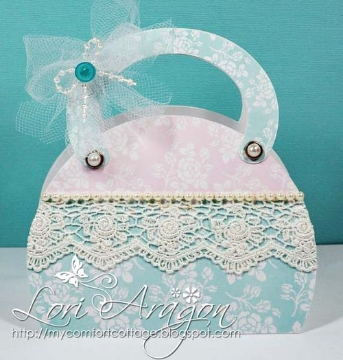 Assorted purse box template - Lori Aragon