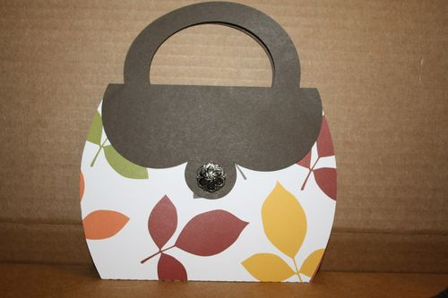 Purse shaped card and invite set - Tanya Alley