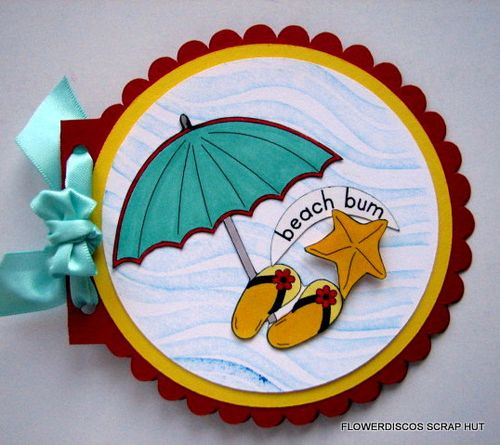 BEACH BUM - Flowerdisco Agnes - Summer Fun set