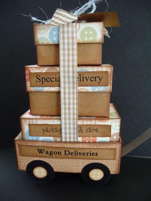 WAGON DELIVERIES - Jeri Thomas - Little red wagon box set