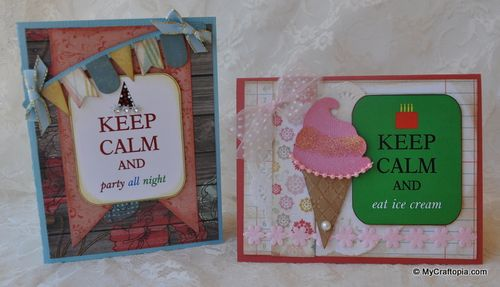 Keep calm and eat ice cream - Leslie Foley - Keep calm and have a great birthday