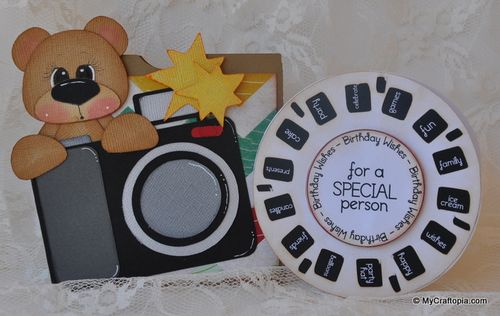 For a special person - Leslie Foley - View finder reel fun set