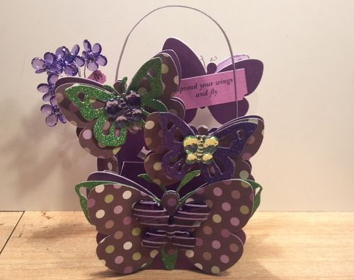 Spread your wings and fly - Audrey Long - Butterfly Treat box