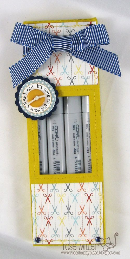 Its time to get your craft on - Rose Miller - Copic Box