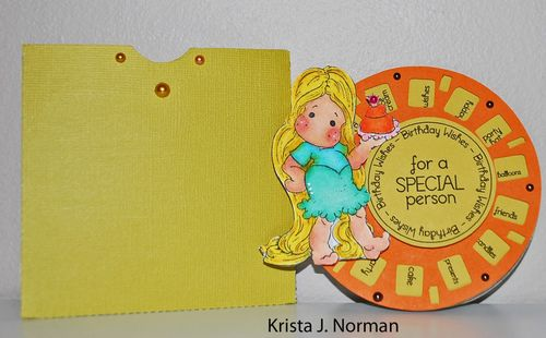 For a special person - Krista Norman - View finder reel fun set