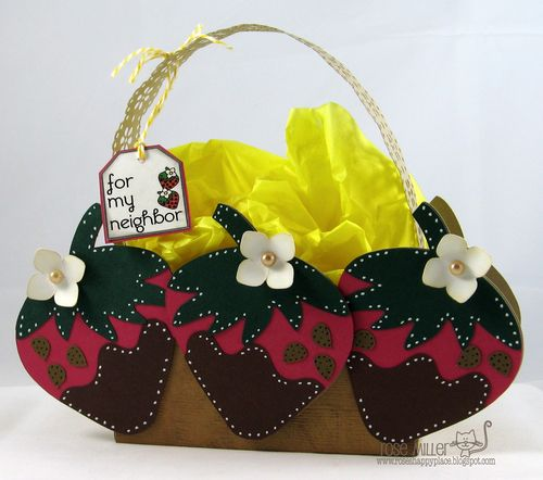 For my neighbor - Rose Miller - strawberry treat box