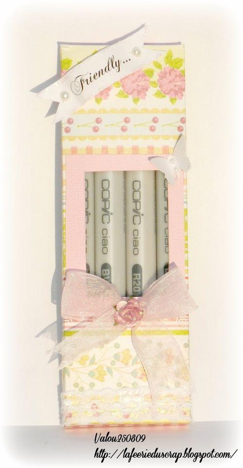 Friendly - Valerie Allard - Copic Box