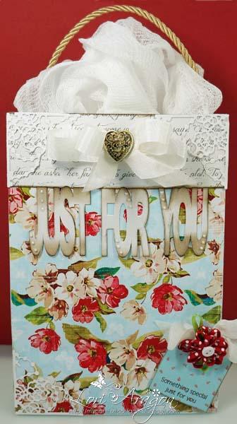 JUST FOR YOU - Large gift bag - Lori Aragon