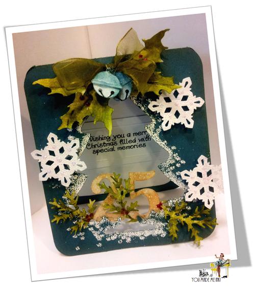 Christmas Card Fun - Lisa Minckler