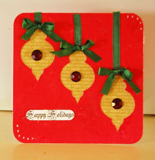 Happy Holidays - Holly Hudspeth - Christmas card fun