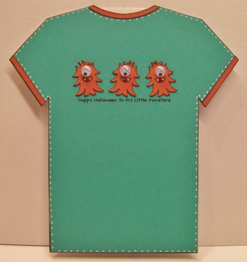 Halloween t-shirt set - Rhonda Zmikly