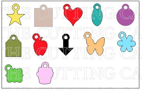 BASIC SHAPE CHARMS