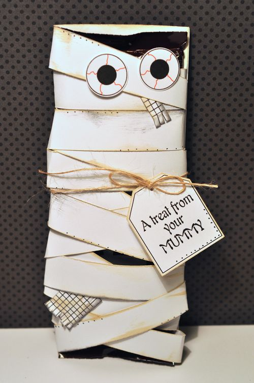 Mummy candy wrap