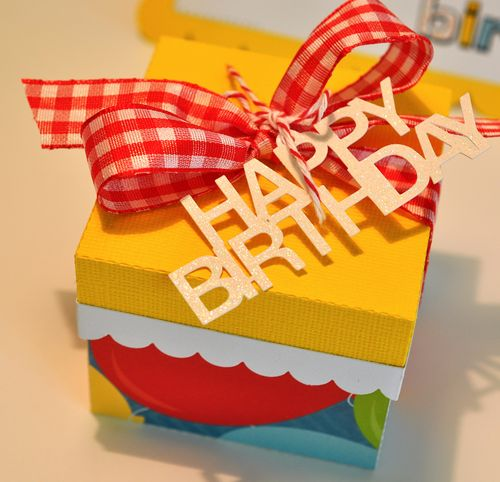 Charm birthday box