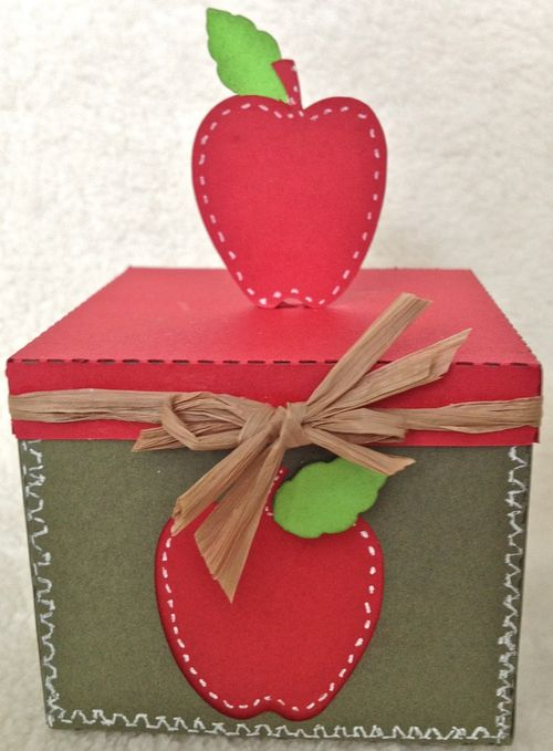 Apple box -Barbara Burgess